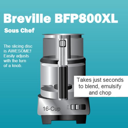 Breville Bfp800xl A Sous Chef Food Processor Review Food