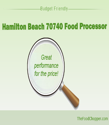 hamilton beach 70740 food processor