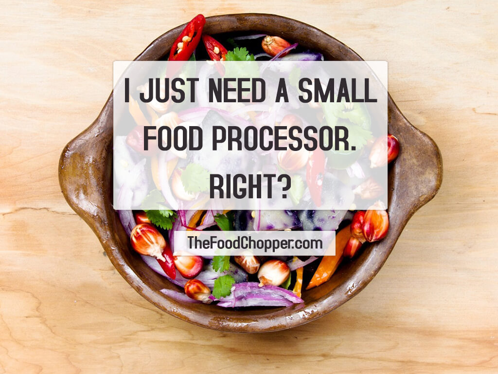 small food processor