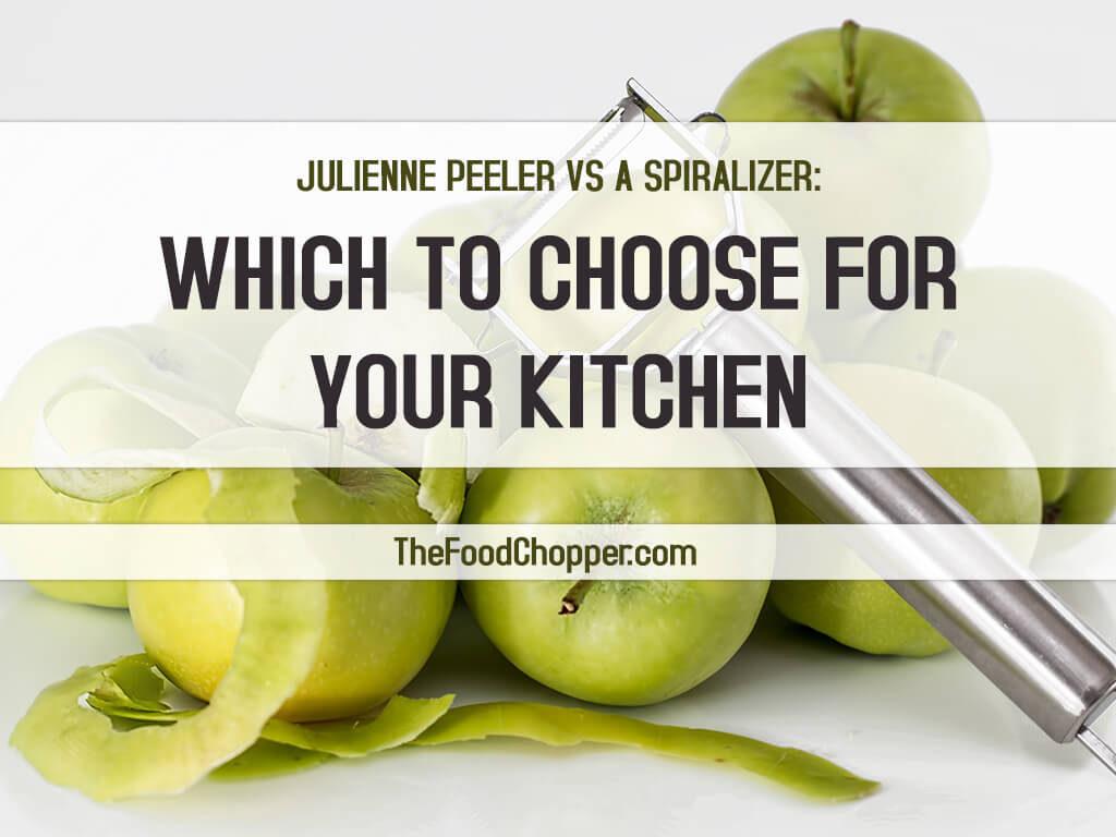 julienne peeler vs spiralizer