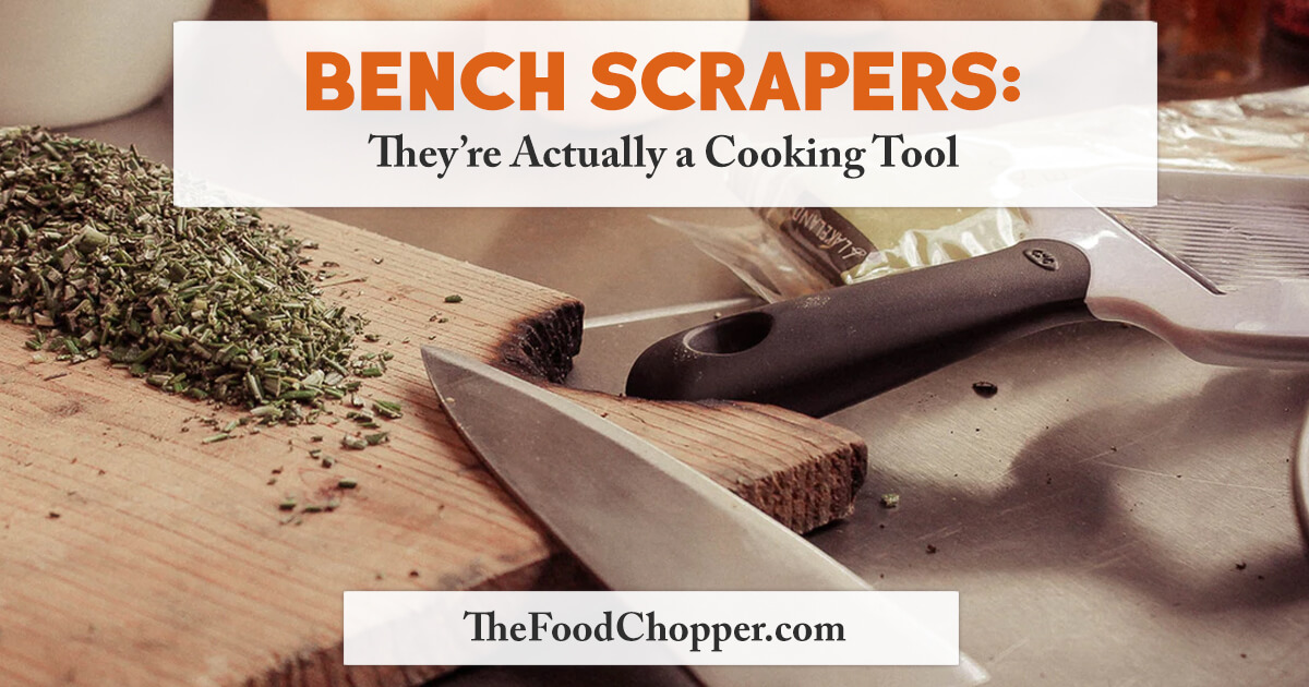 bench scrapers cooking tool