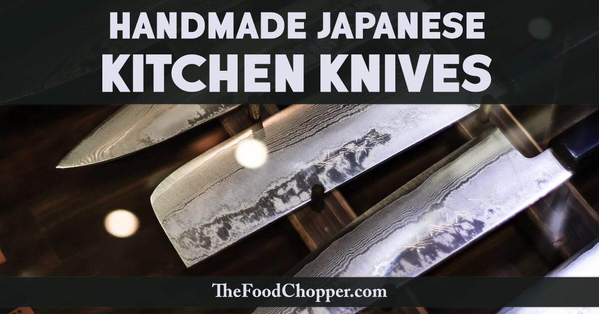 handmade japanese kitchen knives